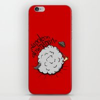 napoleon iPhone & iPod Skins featuring Napoleon Blownaparte by Koenu