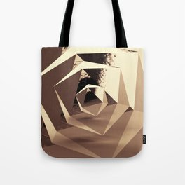 Multifaceted - Gold Tote Bag