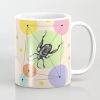 bug Mugs featuring bug by mark ashkenazi