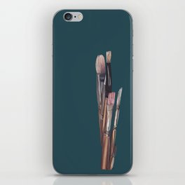 Paint by moments iPhone Skin