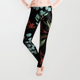 Australian Botanicals - Black Leggings