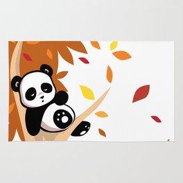 Sleepy Panda in a Tree Rug