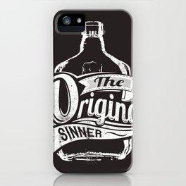 The original sinner iPhone Case