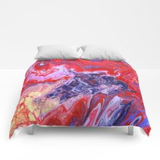 Red Hat Society One Comforters