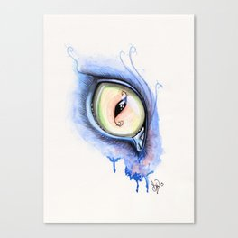Cat Eye I Canvas Print