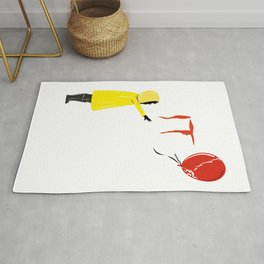 IT clown Pennywise Rug