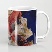 dragon age inquisition Mugs featuring Inquisition by Michael Creese