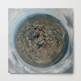 Summit of Mt. Kosciuszko, NSW. Metal Print
