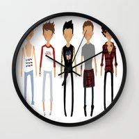 cargline Wall Clocks featuring Simplicity by cargline