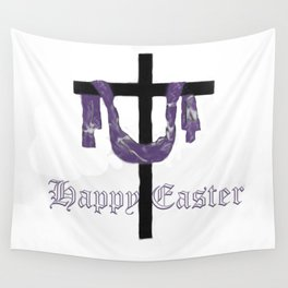 Easter Cross Wall Tapestry