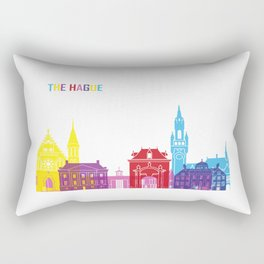The hague skyline pop Rectangular Pillow