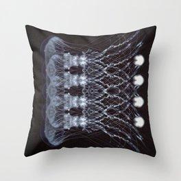 Skeletal Sample Throw Pillow