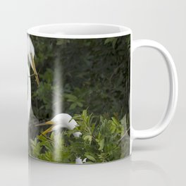 Great Egrets Nesting Coffee Mug