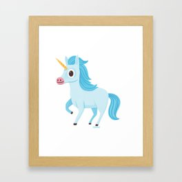 Unicornio Framed Art Print