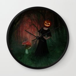It's Mushroom Season Wall Clock