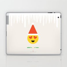 Emoji: What a ... x'mas (lovely) Laptop & iPad Skin