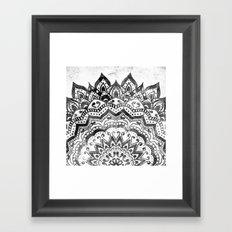 ORION JEWEL MANDALA Framed Art Print