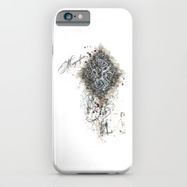 Magnifica Vintage Roses iPhone Case