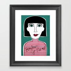 French Framed Art Print