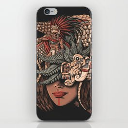 Aztec Eagle Warrior iPhone Skin