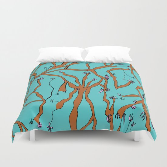 Bare Branches Duvet Cover