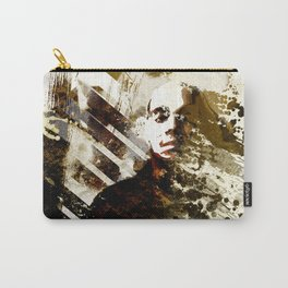 Splatter-Portrait Carry-All Pouch