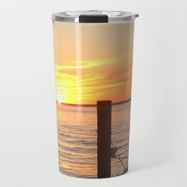 Fire Island Sunset Travel Mug