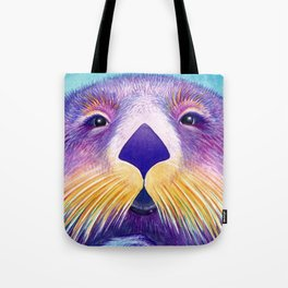 Otter Face to Face Tote Bag