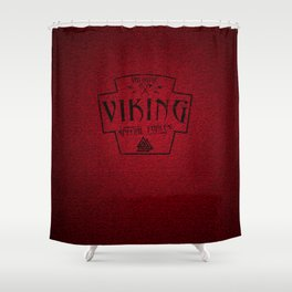Viking Valkyrie Special Forces Shower Curtain