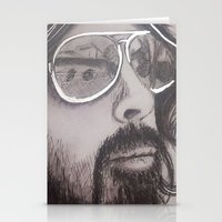 dave grohl Stationery Cards featuring Dave Grohl by Erin Michal