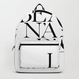 La beauté n'a pas d'age Backpack