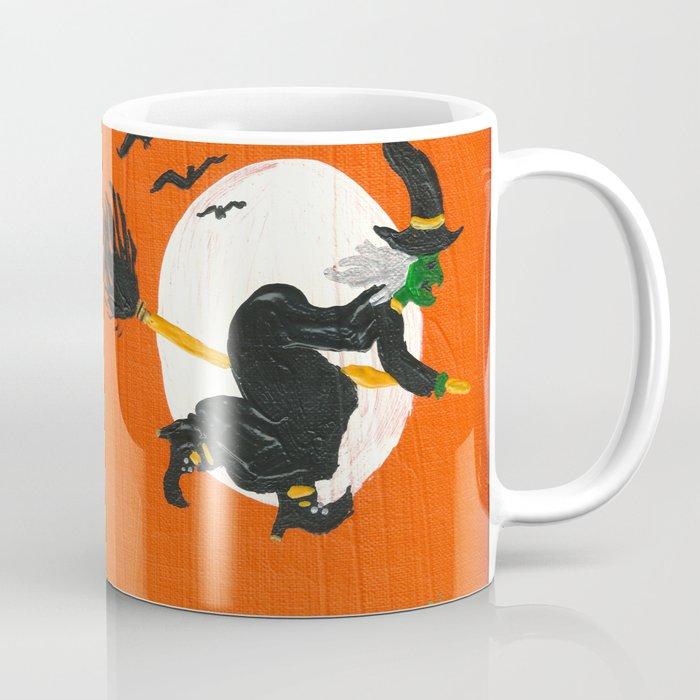 Witch's Midnight Flight Coffee Mug