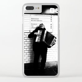 Proud Performer Clear iPhone Case