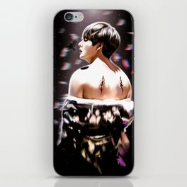 Fallen Angel Kim Taehyung iPhone Skin