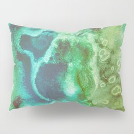 Emerald Witch Poison Pillow Sham