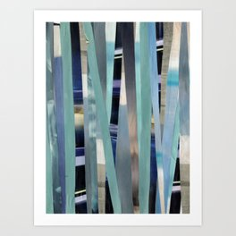 Sea(scapes)stripes Art Print