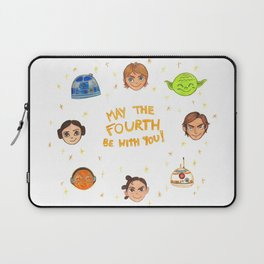May the 4th be with you Laptop Sleeve