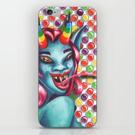 Candy Monster Girl iPhone Skin