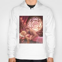sleeping beauty Hoodies featuring Sleeping Beauty by the-untempered-prism