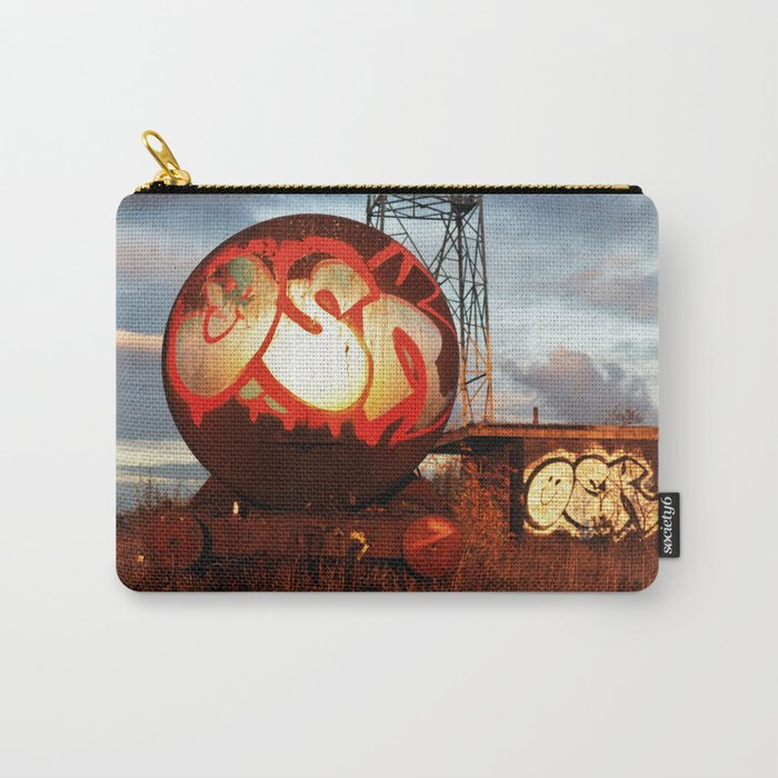 Abandoned Urban Train Yard Carry-All Pouch