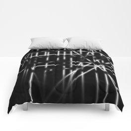 Light in Dark Comforters