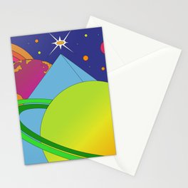 Fear and Loathing in Alpha Centauri Stationery Cards