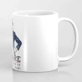 Beware Of The Wrath Of A Patient Man Uncle Sam Coffee Mug