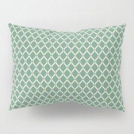 Green Geometric Pattern Pillow Sham