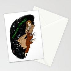 Dana Scully Pin-up Stationery Cards