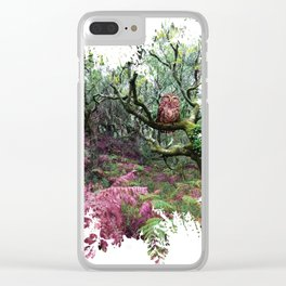 À l'état sauvage Clear iPhone Case