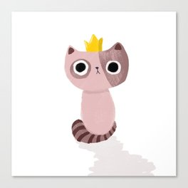 King Kitten Canvas Print