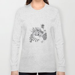 The eye watching you Long Sleeve T-shirt
