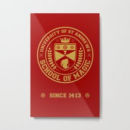 The Student Prince -  University of St Andrews School of Magic Metal Print