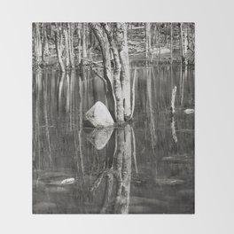 Water Mirror P2882 Throw Blanket